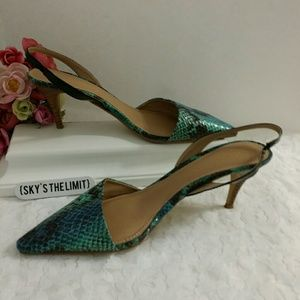 Sole Society slingback heels, 8.5M